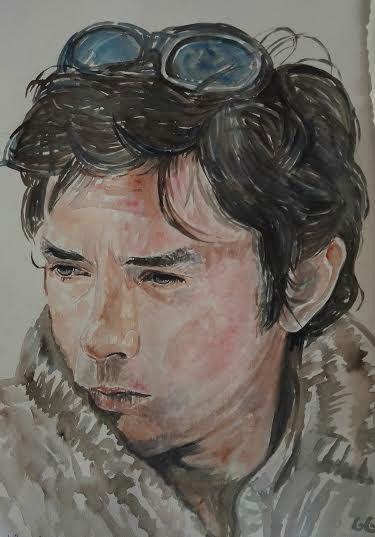 Alain Delon by g1adina87